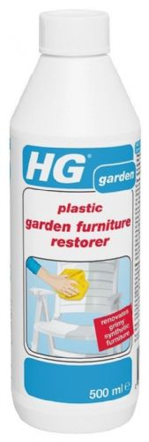 HG Plastic Garden Furniture Restorer 500ml Renovates Grimy Synthetic Furniture